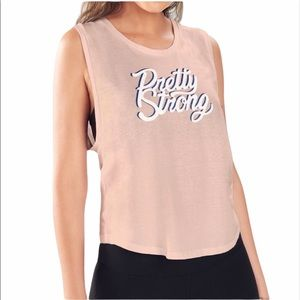 NWT Fabletics Janis Graphic Muscle Tank